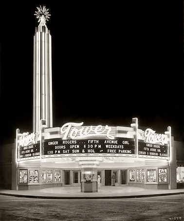 Tower Theatre circa 1940