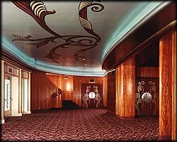 The Tower Theatre Lobby - click to enlarge photo